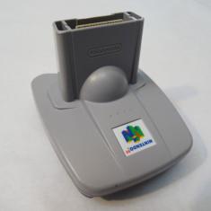 Adaptor Transfer Pak pentru consola Nintendo 64 N64, Controller