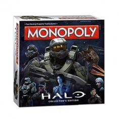 Joc Halo Monopoly Board Game - Joc board game Hasbro