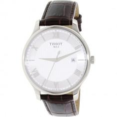 Ceas Tissot barbatesc T-Classic T063.610.16.038.00 Brown Leather Swiss Quartz - Ceas barbatesc