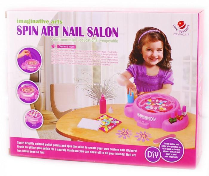 Set jucarie pentru fetite - salon de manichiura nail art foto mare