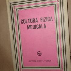 Cultura fizica medicala an 1981/273pag/numeroase figuri