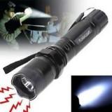 Lanterna electrosoc autoaparare, Cu lanterna
