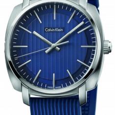 Calvin Klein K5M311ZN Swiss Made ceas barbati nou 100% original. Garantie. - Ceas barbatesc Calvin Klein, Casual, Quartz, Inox, Cauciuc, Rezistent la apa