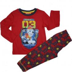 Pijama baieti Sun City Wings HQ2067-RO, Rosu