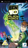 Ben 10 Alien Force - PSP [Second hand] cod, fm, Actiune, 12+, Single player