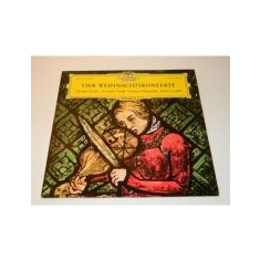 TORELLI, CORELLI, MANFREDINI, LOCATELLI - Vier Weihnachtskonzerte ( disc vinil )