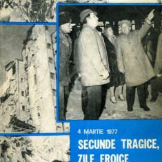 4 Martie 1977, Secunde tragice, zile eroice. Din cronica unui cutremur - Roman istoric