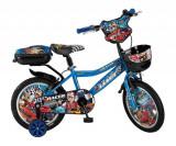 """Bicicleta Copii Umit Racer , Culoare Albastru , Roata 16"""" , OtelPB Cod:16480000001"""