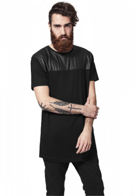 Tricouri barbati lungi umeri piele ecologica foto
