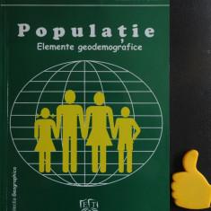 Populatie elemente demografice Vasile Cucu