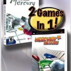 Arcer Maclean's Mercury ans Mercury Meltdown 2 in 1 -  PSP [Second hand], Arcade, 3+, Multiplayer