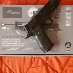 Pistol sig-sauer p226 co2 blow-back - Arma Airsoft We Airsoft