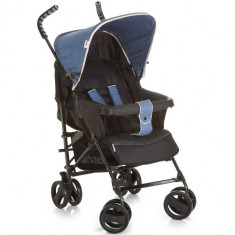 Carucior Sprint S Melange Jeans Caviar - Carucior copii 2 in 1 Hauck