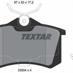 Set placute frana TEXTAR 2355402