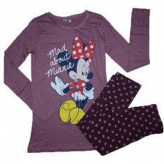 Pijama fetite Sun City Minnie Mouse HQ2174-Ma, Maro