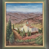 Tablou Renate Hager, pictura in ulei, Peisaje, Realism