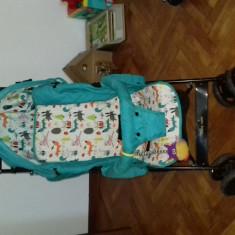 Carucior copil, sport cu spatar reglabil baby care - Carucior copii Sport Baby Care, Multicolor