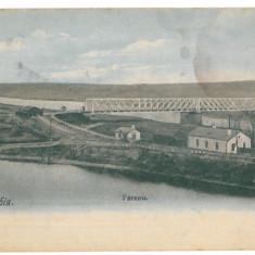 1068 - Moldova, Basarabia, UNGHIENI, Bridge - old postcard - unused, Necirculata, Printata