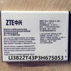 Acumulator  ZTE Blade Q Lux  A 430 cod Li3822T43P3h675053 nou original