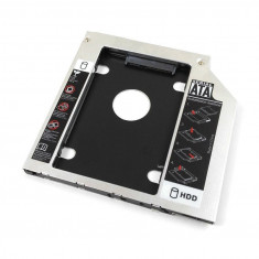 Hdd caddy adaptor unitate optica la hard disk Asus N73JF