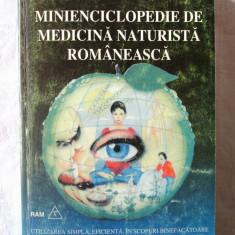 MINIENCICLOPEDIE DE MEDICINA NATURISTA ROMANEASCA, Gregorian Bivolaru, 1994, Alta editura