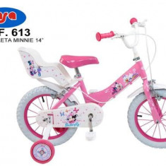 Bicicleta 14 Minnie Mouse Club House - Toimsa - Bicicleta copii