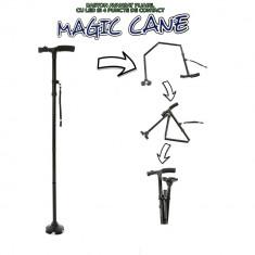 Magic Cane - baston avansat pliabil cu LED si 4 puncte de contact
