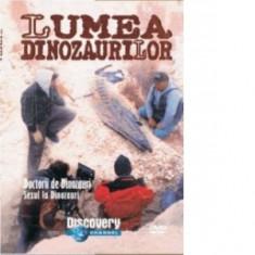 Lumea dinozaurilor- Doctorii de dinozauri/sexul la dinozauri, DVD, Romana, discovery channel