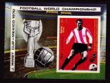 Yemen  1970  sport  fotbal  MI  bl.125   MNH  w50