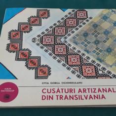 CUSĂTURI ARTIZANALE DIN TRANSILVANIA/LIVIA GOREA ȚICHINDELEANU/ 1976