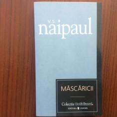mascaricii v s naipaul carte roman colectia cotidianul editura univers 2007