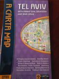 Tel Aviv harta orasului (lb.engleza)