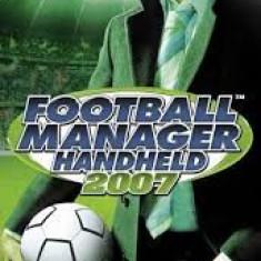 Fotball Manager Handheld 2007 - PSP  [Second hand], Sporturi, Toate varstele, Single player