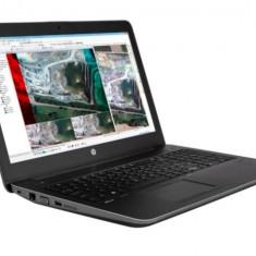 Laptop HP zBook 15, Intel Core i7 Gen 4 4800MQ 2.7 Ghz, 16 GB DDR3, 250 GB SSD mSATA + 1 TB HDD SATA NOU, DVDRW, nVidia Quadro K610M, WI-FI,