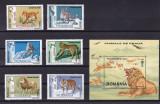 ROMANIA 2000  LP  1532 LP 1533  ANIMALE DE PRADA  SERIE SI  COLITA  MNH, Nestampilat