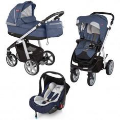 Carucior Chicco - Carucior copii 3 in 1 Chicco, Albastru