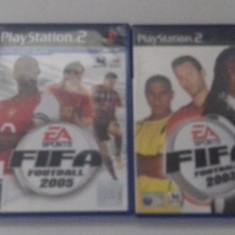 LOT 2 jocuri : FIFA 2003 + 2005- PS2 [Second hand], Actiune, 16+, Single player