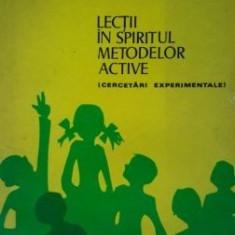 Lectii in spiritul metodelor active