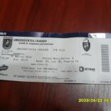 Bilet    U  Craiova   -  CFR  Cluj