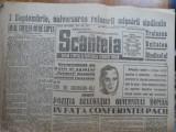 Ziarul Scanteia , 22 nr. din 1946 , 1 nr. 1959 , bonus alte zeci de ziare uzate