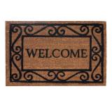 Cumpara ieftin Covoras intrare, 60 x 40 cm, mesaj Welcome