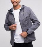 Geaca NIKE International (Hooded Jacket) marimea L, Gri, cod 802482 021 / NOUA