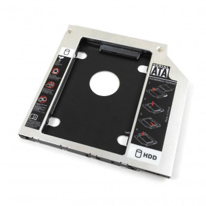 Hdd caddy adaptor unitate optica la hard disk HP 630
