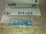 Lot swiss blue topaz