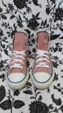 Converse All Star originali,high top,nr.38-24,5 cm., Textil