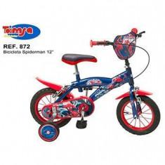 Bicicleta 12 - Spiderman - Bicicleta copii Toimsa