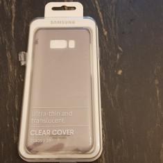 Carcasa pentru SAMSUNG Galaxy S8 Plus Clear Cover, Black - Husa Telefon Samsung, Transparent