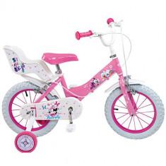 Bicicleta Minnie Mouse Club House 12 inch Roz - Bicicleta copii Toimsa