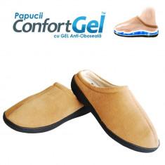 Papucii ConfortGel - papucii cu talpa cu gel incorporat, pentru maximum de confort si pentru ameliorarea durerii