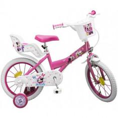 Bicicleta Minnie Mouse 16 inch - Bicicleta copii Toimsa